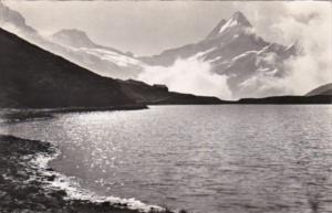 Switzerland Grindelwald Bachsee Berglistock und Schreckhorn 1953 Photo