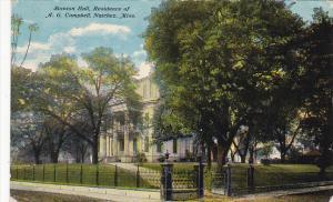 Mississippi Natchez Stanton Hall A G Campbell Residence 1911