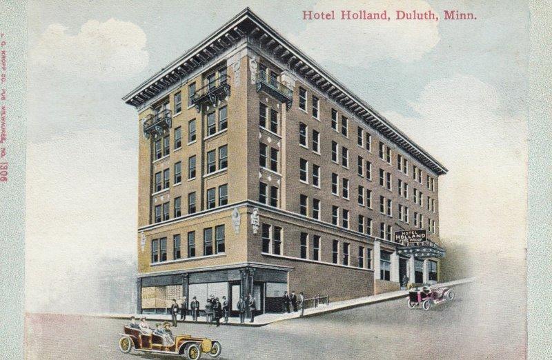 DULUTH , Minnesota , 1910s ; Hotel Holland