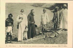 India Mysore Despatures foreign missions hunt the Crocodile in the Jungle 06.34