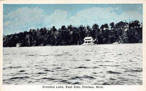 LPM12 Chelsea Crooked Lake   Michigan Postcard