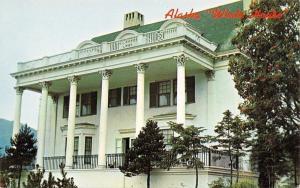 Juneau Alaska~White House~Governors Mansion~1950s Postcard
