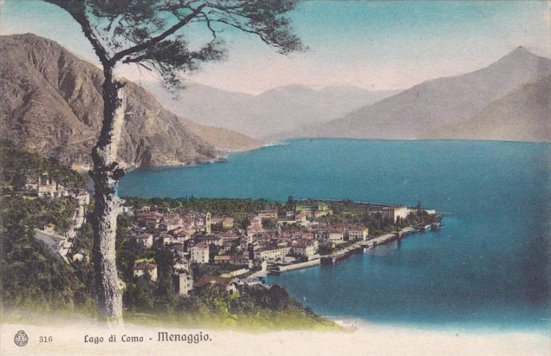 MENAGGIO, Como, Lombardia, Italy, Lago di Como, 00-10s