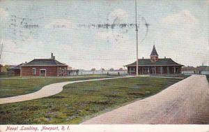 Rhode Island Newport Naval Landing 1908