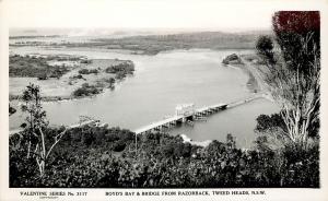 RPPC Valentine Series 3117; Boyd's Bay & Bridge, Tweed Heads N.S.W. Australia