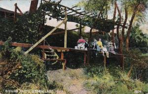 Iowa Storm Lake Fishing Party 1908