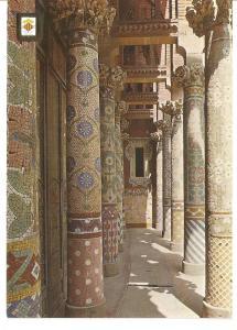 Postal 045393 : Palau de la Musica Catalana. Barcelona. Arquitecte: Domenech ...