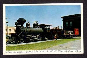 MI Duluth and Iron Range 3 Three Spot Loco Engine Two Harbors Michigan Postcard