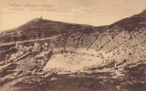 ATHENES, Greece, 1900-1910´s; Theatre De Bacchus