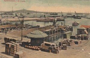 MONTEVIDEO, Uruguay, PU-1909 ; El Puerto