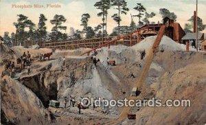 Phosphate Mine Florida, USA 1920