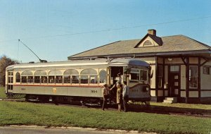 Trolley - Cleveland Interurban Railroad Car #304, Trolleyville USA