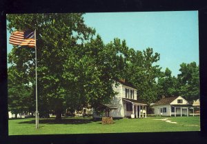 Vincennes, Indiana/IN Postcard, The Territorial Capitol, State Memorial