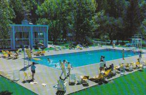 Swimming Pool,  The Harrison Hotel,  Vancouver,   B.C.,   Canada,  40-60s