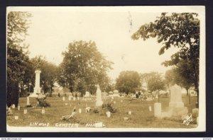 LINWOOD Cemetary, PANA, ILL. McElroy RPPC P.M. PANA ILL. 1913 - McElroy photo