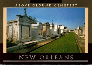 Louisiana New Orleans Above The Ground Cemetery 1993