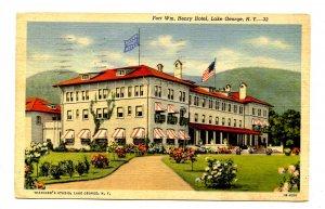 NY - Lake George. Fort William Henry Hotel