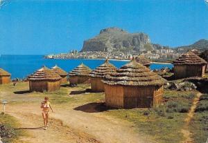 Italy Cefalu Club Mediterranee Promenade Panorama