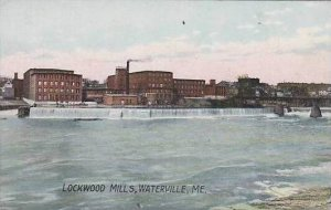 Maine Waterville Lockwood Mills