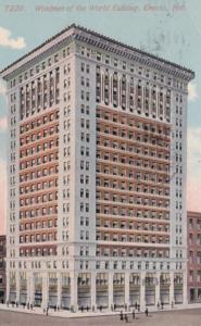 Nebraska Omaha Woodmen Of The World Building 1915