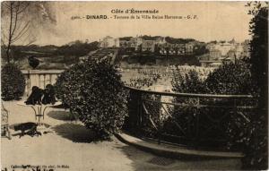 CPA  Coté d'Émeraude - Dinard - Terrasse de la Villa Reine Hortense   (584526)