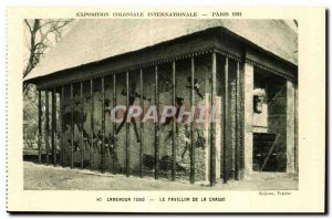 Old Postcard - Exposition Coloniale Internationale - Paris 1931 Camaroun Togo...