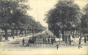 Dijon, France, Carte, Postcard Allee du Parc Dijon Allee du Parc