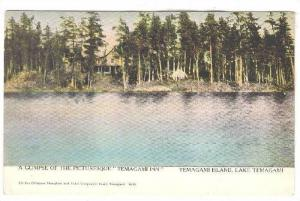 A Glimpse Of The Picturesque Temagami Inn, Temagami Island, Lake Temagami, ...