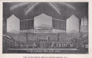 OCEAN GROVE , New Jersey, 00-10s; Auditorium Organ