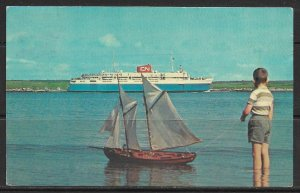 Canada - Nova Scotia - M.V. Bluenose Ship Heading for Maine - [FG-096]