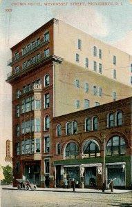 RI - Providence. Crown Hotel, Weybosset Street