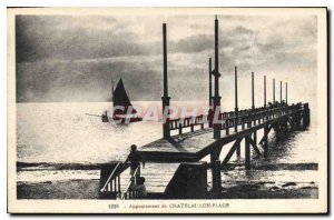 Postcard Old Landing stage from Chatelaillon Plage