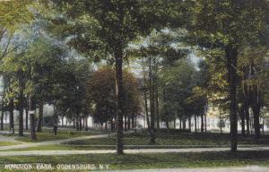 Mansion Park, Ogdensburg, New York, 00-10s