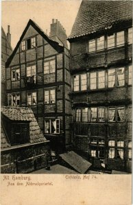 CPA AK Hamburg- Eichholz, Hof 74 GERMANY (902143)