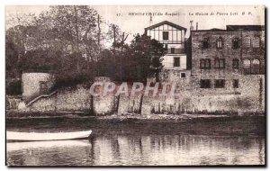 Old Postcard Hendaye La Maison Pierre Loti