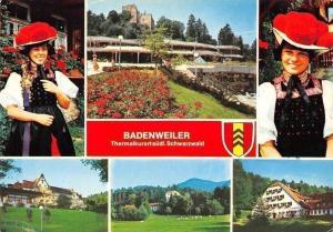 Badenweiler Schwarzwald, Blumen Park Folklore Costumes Panorama