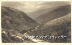 Sharp Tor & Gorge Dartmoor UK, England, Great Britain Unused