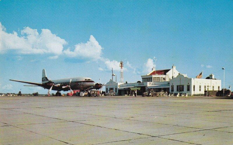 JACKSON, Mississippi, 1960-70s; Municipal Airport on Hawkins Field