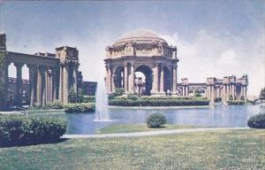 California San Francisco Palace Of Fine Arts