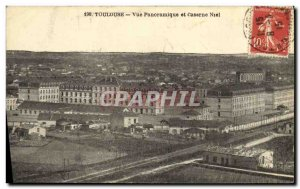 Old Postcard Toulouse Panoramic and Niel Barracks Army
