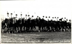 Horse Sport - Championship Holland 1950 Real Photo 03.00