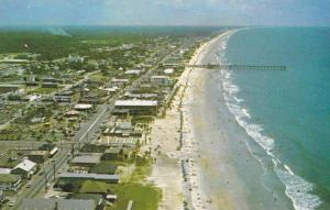 Aerial View of Myrtle Beach Looking North, Myrtle Beach, South Carolina, 40-6...