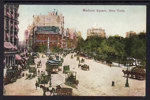 Madison Square New York NY Post Card 5310