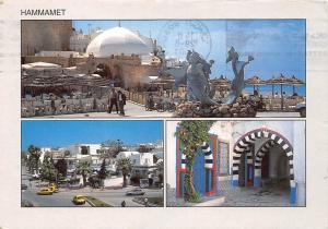 Tunisia Tunisie Hammamet Statue General view Auto Cars