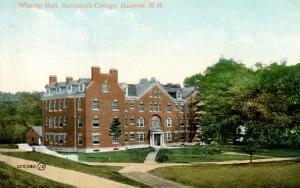 NH - Hanover. Dartmouth College, Wheeler Hall