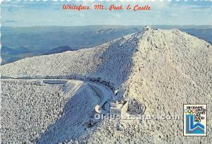 Whiteface Mt Peak and Castle XIII Olympic Winter Games, Lake Placid 1980 Unused
