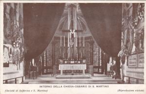 Interno Della Chiesa-Ossario Di S. Martino, ITALY, 1910-1920s