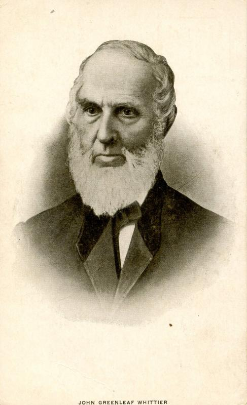Famous People - John Greenleaf Whittier