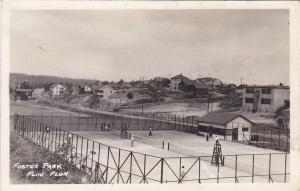 RP, Foster Park, Flin Flon, Manitoba, Canada, 1910-30s ; Tennis Courts