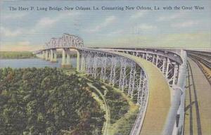 Louisiana New Orleans The Huey P Long Bridge
